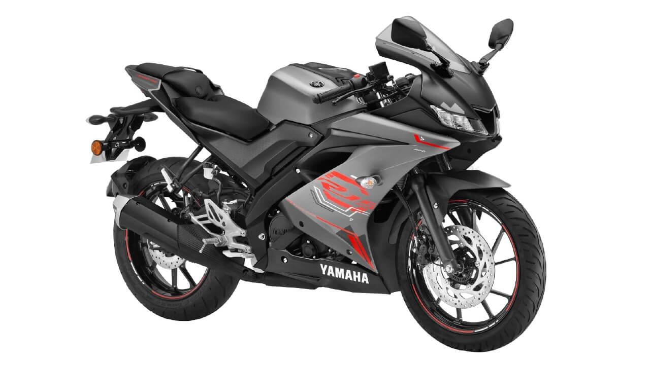 Yamaha YZF R15 V3 BS6 Thunder Grey