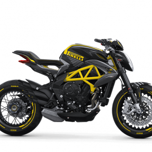 Dragster 800 RR Matt Black and Pirelli Yellow