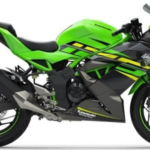 Kawasaki Ninja 125 side