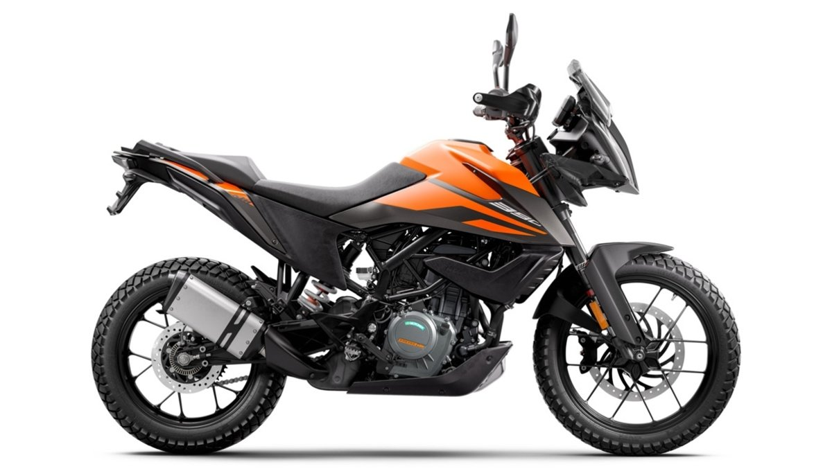 KTM 390 Adventure Orange
