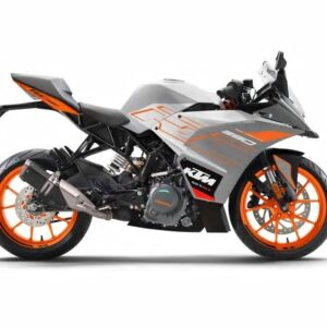 KTM RC 390 - Metallic Silver