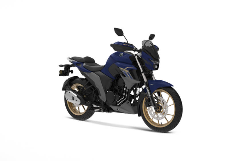 Yamaha FZS 25 Dark Matt Blue