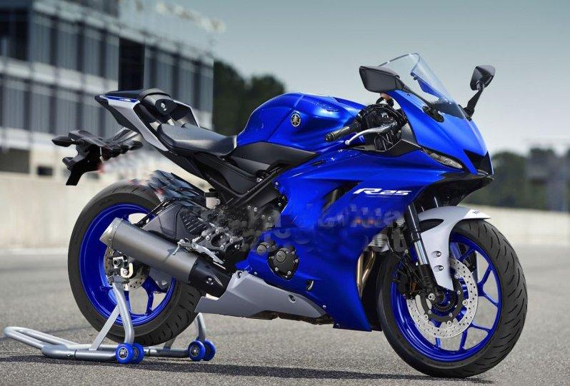 Yamaha R25 Blue