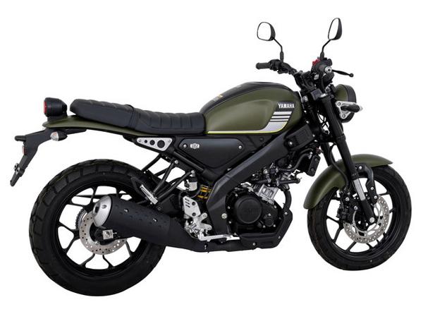 Yamaha XSR 155 Green Wanderlust
