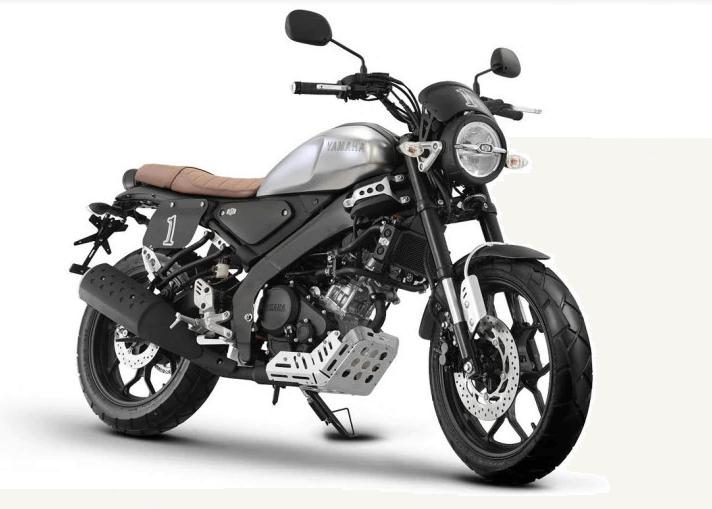 Yamaha XSR 155 Premium Grey