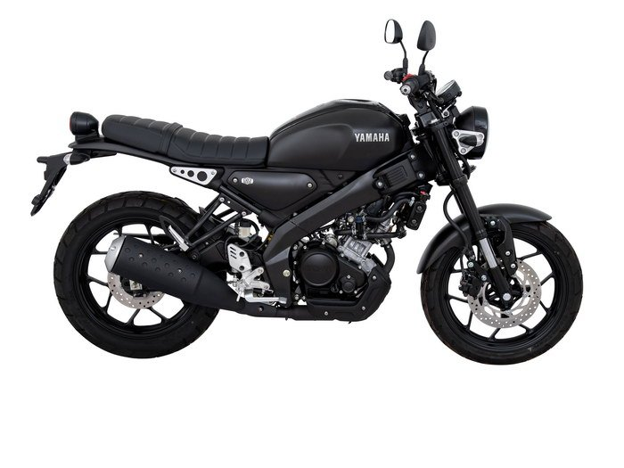 Yamaha XSR155 Matt Black