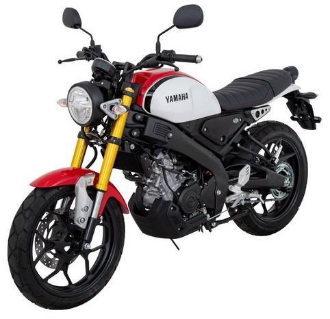 Yamaha XSR155 quater View