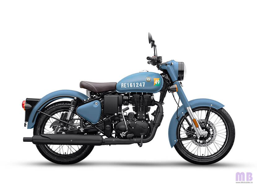 Royal Enfield Classic 350 Airborn Blue