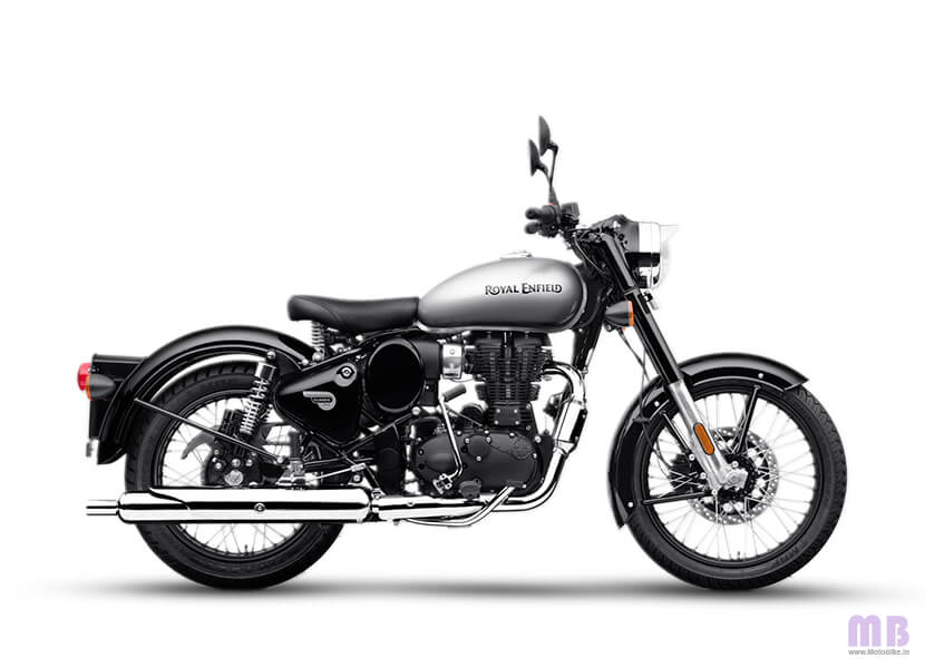 Royal Enfield Classic 350 Mercury Silver