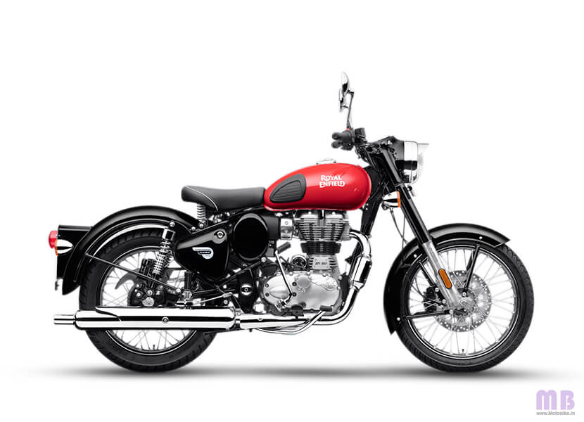 Royal Enfield Classic 350 Redditch Red Colour