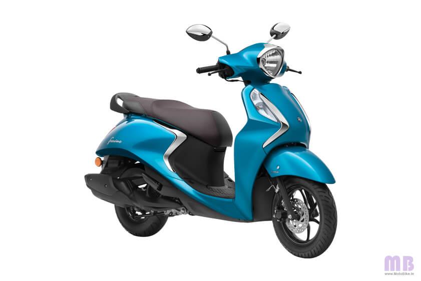 Yamaha Fascino 125 Cyan Blue