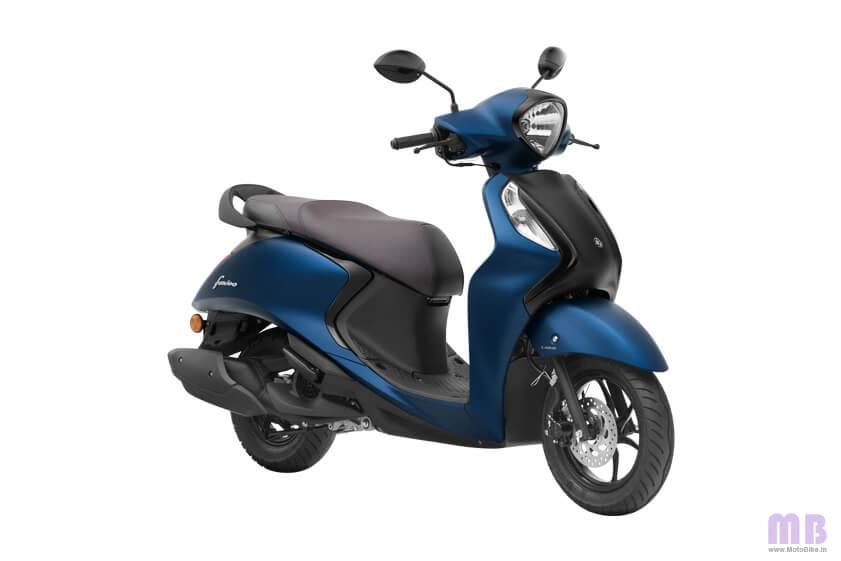 Yamaha Fascino 125 Dark Matte Blue