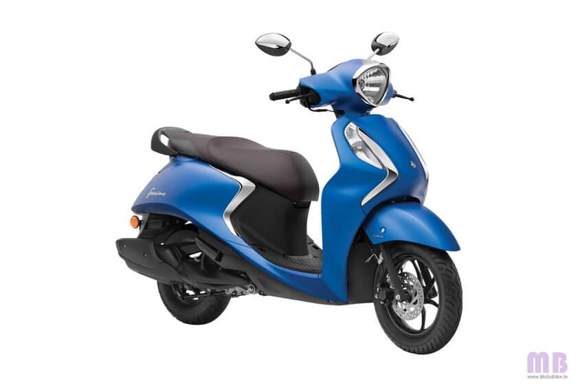 Yamaha Fascino 125 Matte Blue