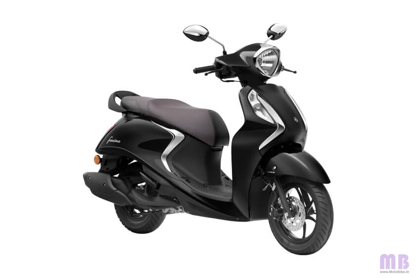 Yamaha Fascino 125 Metallic Black