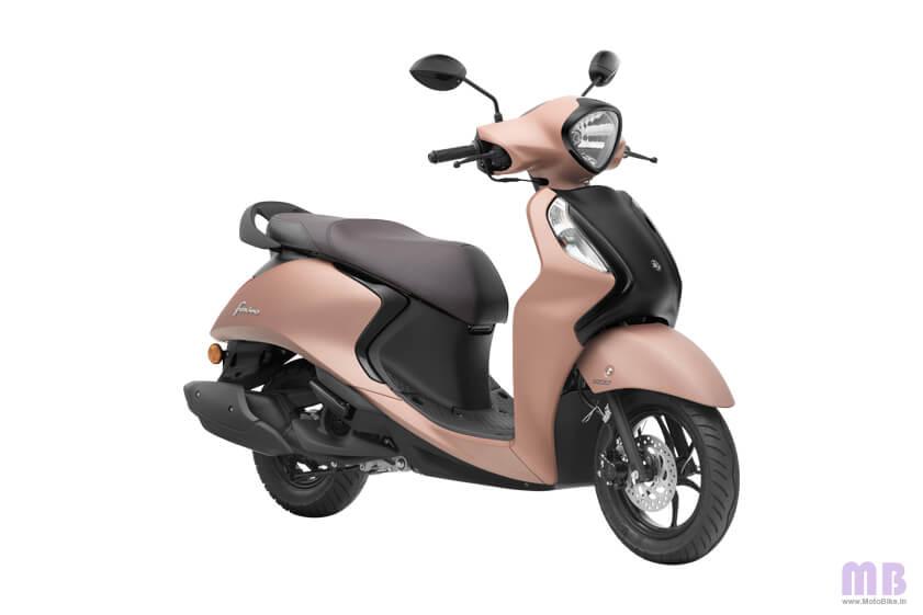 Yamaha Fascino 125 Suave Copper