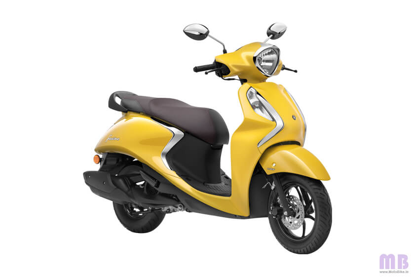 Yamaha Fascino 125 Yellow Cocktail