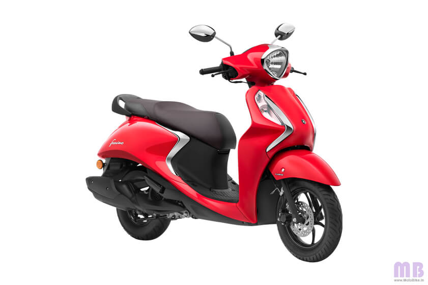 Yamaha Fascino Vivid Red