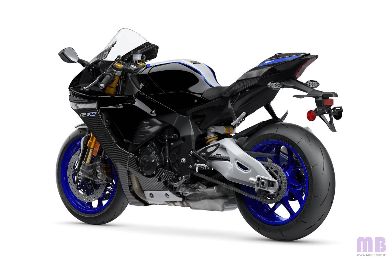 Yamaha R1M Back Side