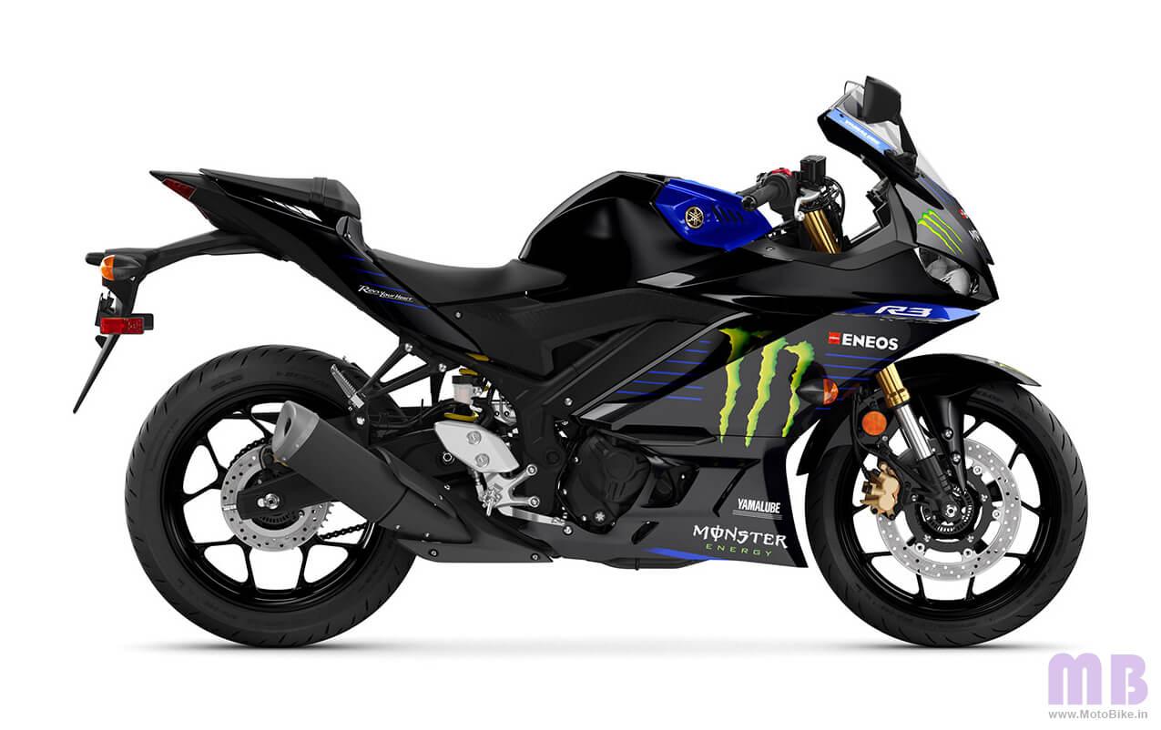 Yamaha YZF R3 Monster Edition