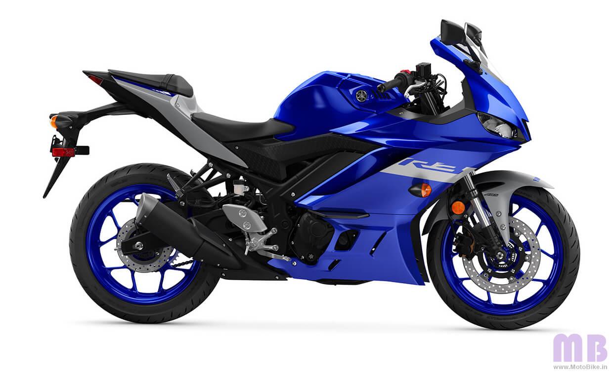 Yamaha YZF R3 Racing Blue