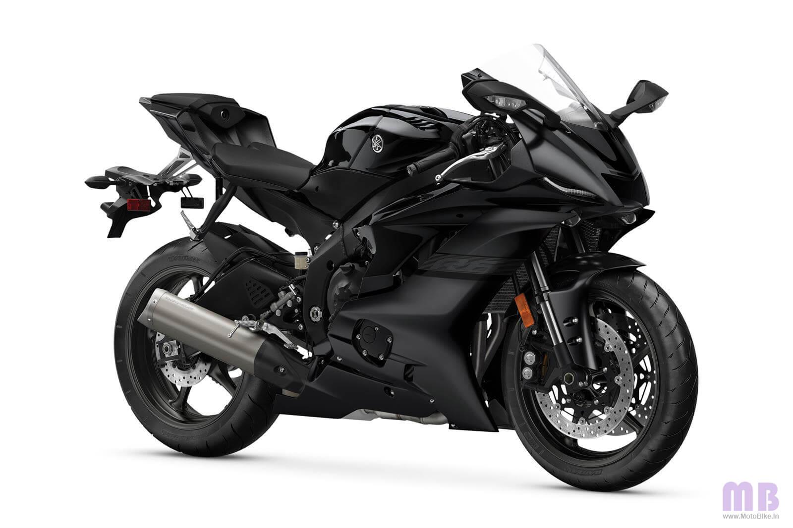 Yamaha YZF R6 Matte Black