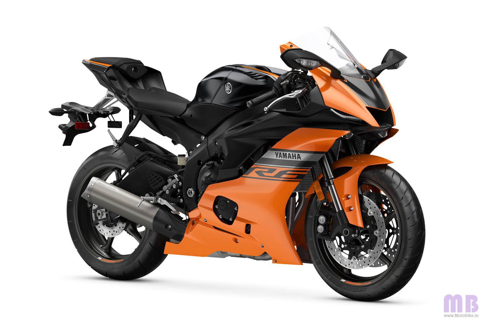 Yamaha YZF R6 Matte Orange