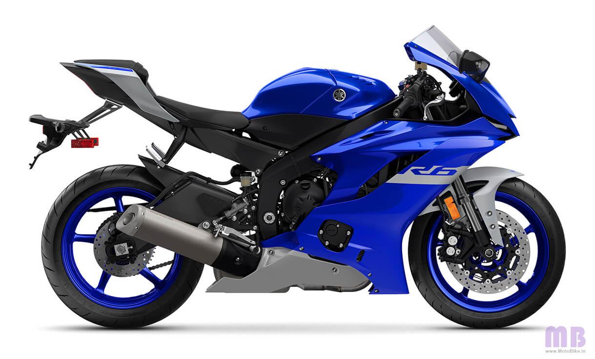 Yamaha YZF R6 Team Yamaha Blue