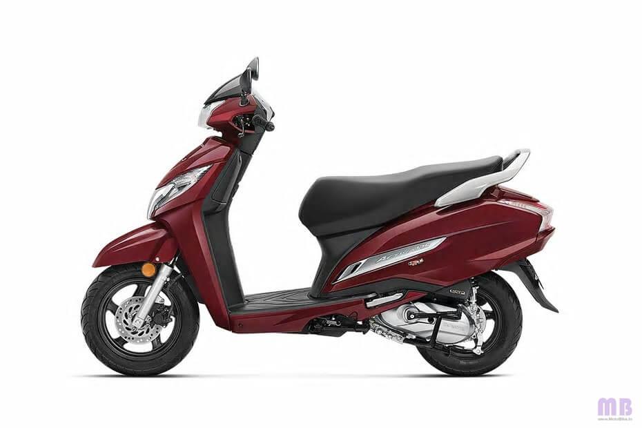 Honda Activa 125 BS6 Rebel Red Metallic