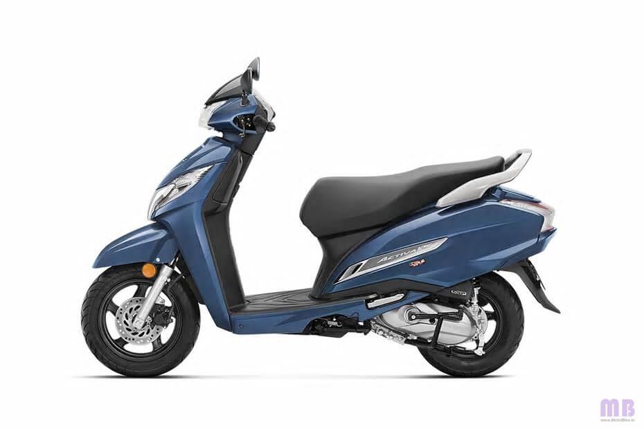 Honda Activa 125 Midnight Blue Metallic