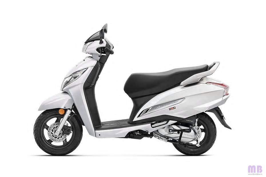 Honda Activa 125 Pearl Precious White