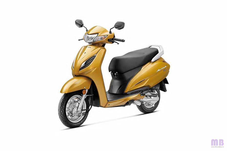 Honda Activa 6G Dazzle Yellow Metallic