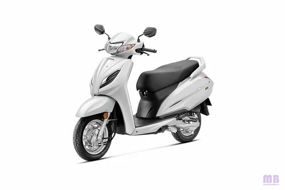 Honda Activa 6G Pearl Precious White