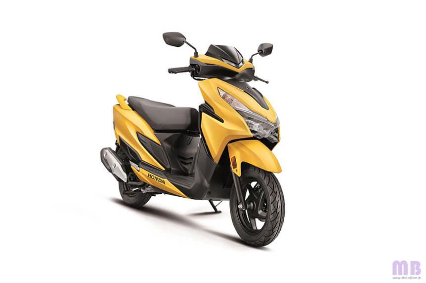 Honda Grazia Mat Cyber Yellow