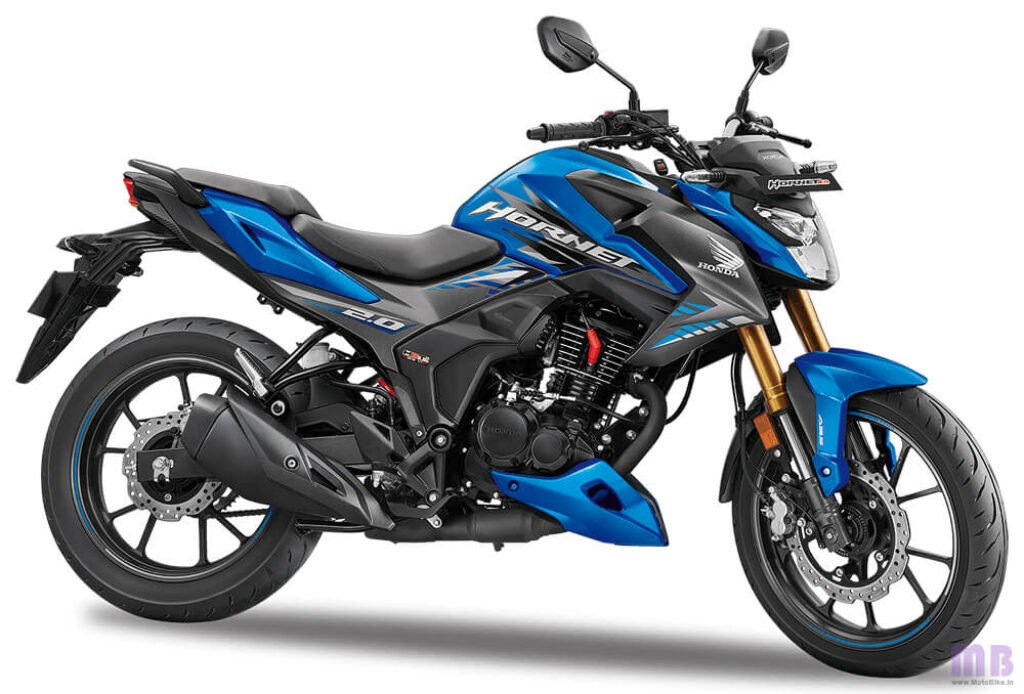 Honda Hornet 2.0 Matte Marvel Blue Metallic