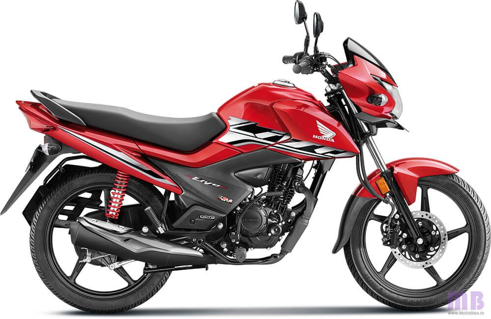 Honda Livo BS6 Imperial Red Metallic