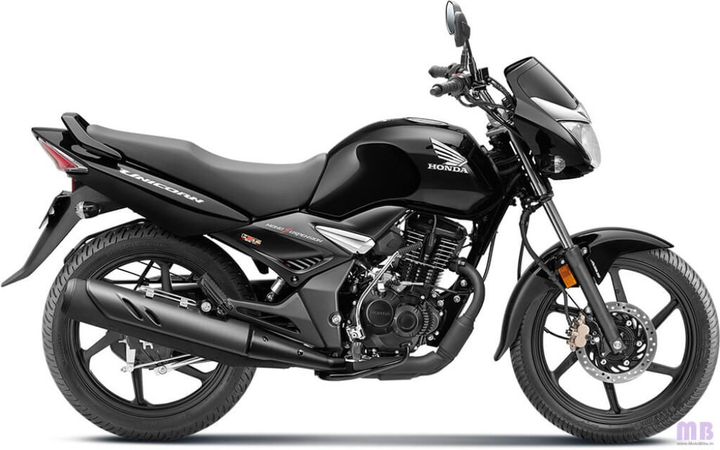 Honda Unicorn BS6 Pearl Igneous Black