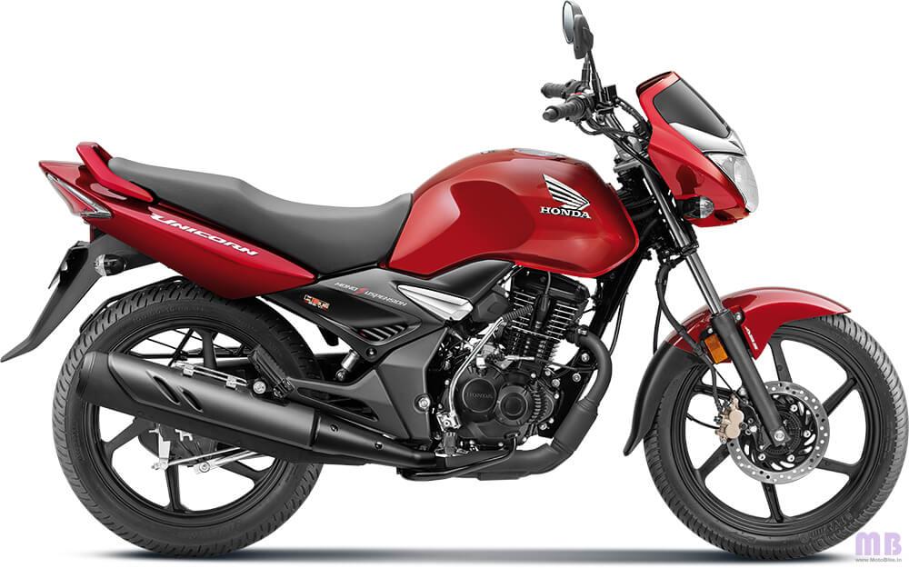 Honda Unicorn Imperial Red Metallic