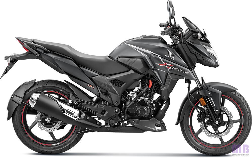 Honda X-Blade BS6 Matte Axis Grey Metallic