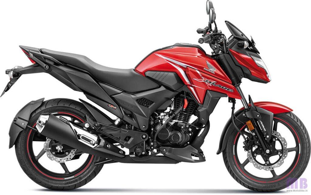 Honda X-Blade BS6 Pearl Spartan Red