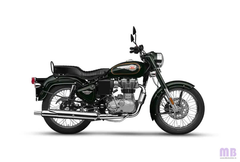 Royal Enfield Bullet 350 Forest Grey