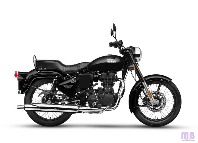 Royal Enfield Bullet 350 Jet Black
