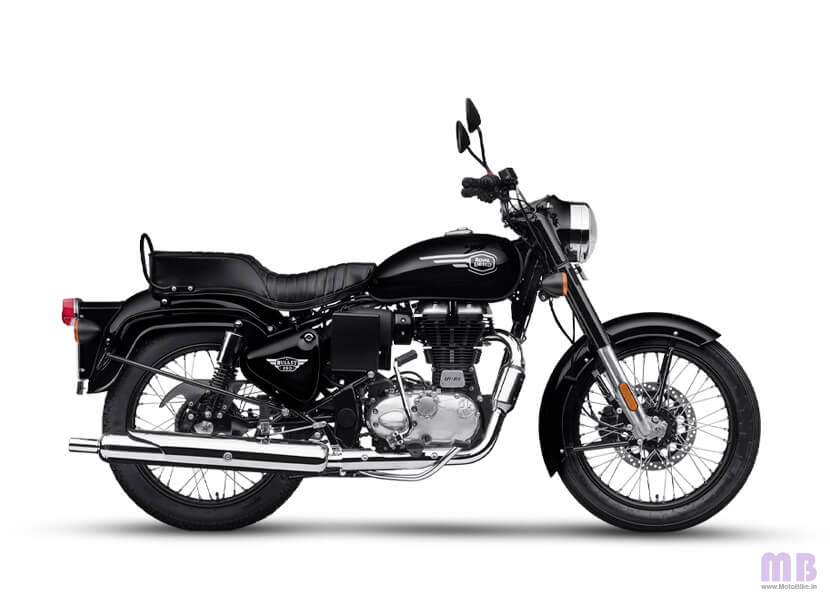 Royal Enfield Bullet 350 Onyx Black