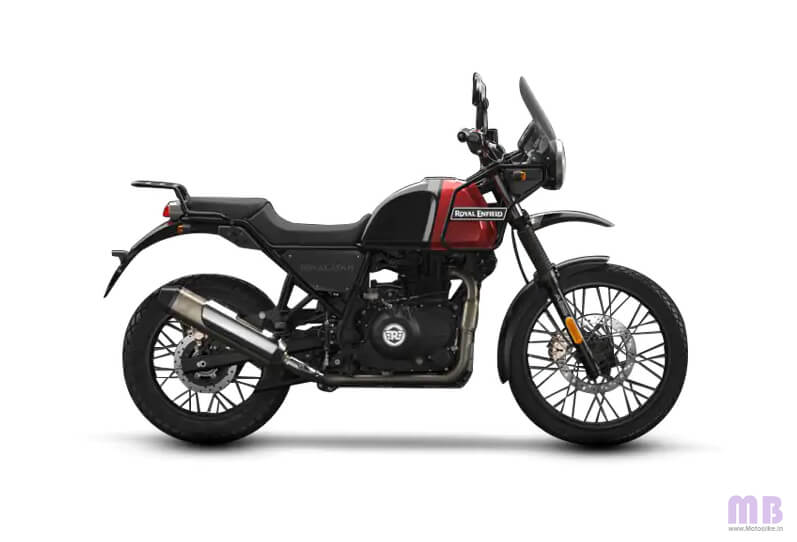 Royal Enfield Himalayan Rock Red