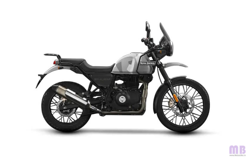 Royal Enfield Himalayan Sleet Grey