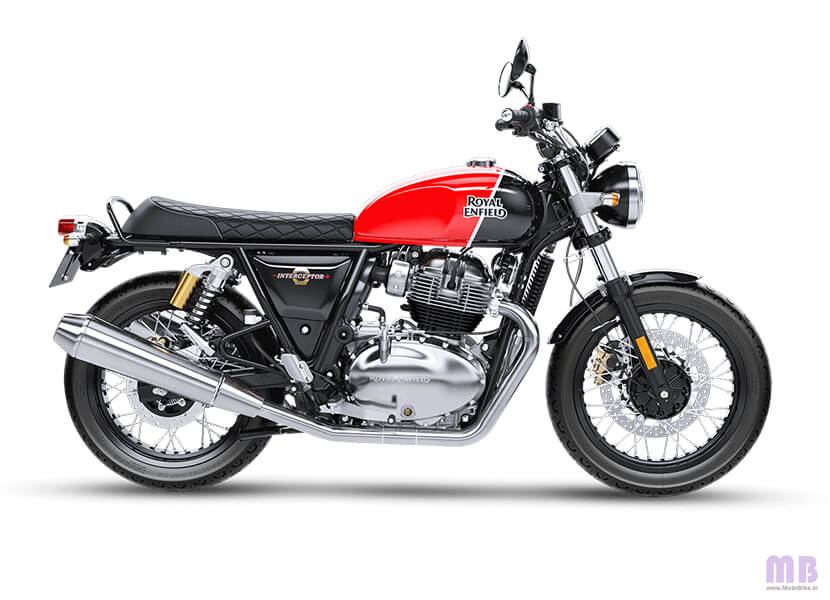 Royal Enfield Interceptor 650 Ravishing Red