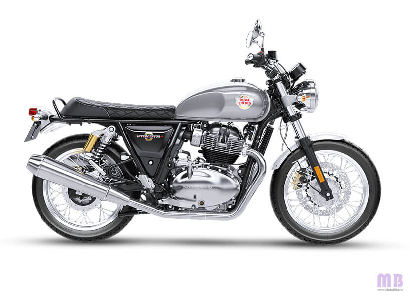 Royal Enfield Interceptor 650 Silver Spectre