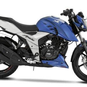TVS Apache RTR 160 4V Metallic Blue
