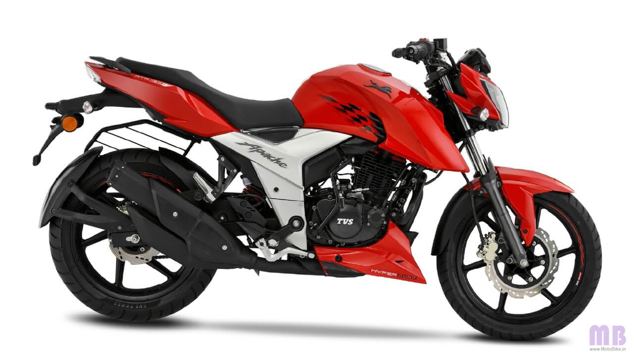 TVS Apache RTR 160 4V Racing Red