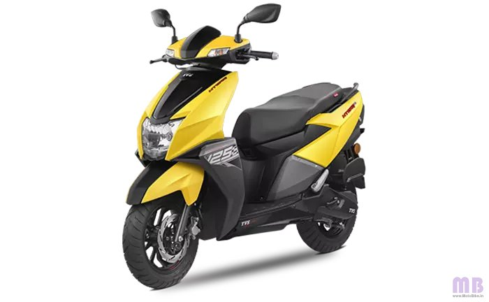 TVS Ntorq 125 Matte Yellow