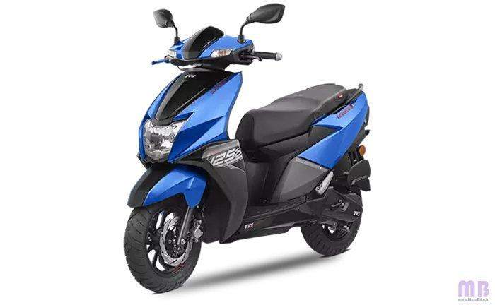 TVS Ntorq 125 Metallic Blue